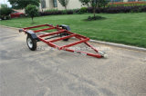 4X8 Red Folding Trailer /Utility Trailer /Foldable Trailer