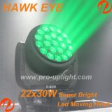B testa mobile della lavata dell'occhio LED del falco dell'occhio 22X30W