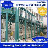 Филировальная машина 50t/24h пшеничной муки для рынка Алжира