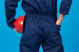 Tuta poco costosa del Workwear di sicurezza lunga del manicotto del poliestere 35%Cotton di 65% (BLY1025)