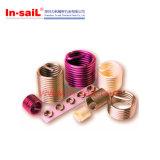 Inserções da linha da bobina para o alumínio