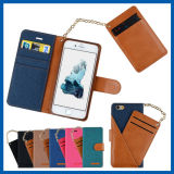 Leather Case Card Slots Detachable Chain Strap for iPhone 6s