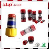 Os conetores Lbk 8/6mm do bloco do gás/água subterrâneos para direto instalam com 2*Clips