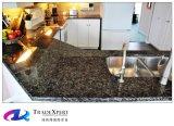 Color de la encimera del granito de Brown del cosmos para las encimeras del granito de la cocina exóticas