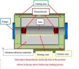 두 배 지역 관형노, 4channels 대량 유량계 가스 통제 Ler를 미끄러지는 CVD 시스템 With1200c
