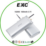102555 China Ultra Thin Lithium Polymer Battery 3.7V 1400mAh voor Laptop