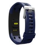 Wristband astuto con il video di frequenza cardiaca e la funzione di forma fisica