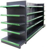 Aménagement réglable de système en métal de supermarché