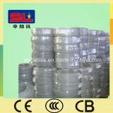 PVC銅の平らな電気ワイヤー4mm2双生児およびアース線
