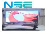 Afficheur LED polychrome de dessus du taxi P5 annonçant l'étalage