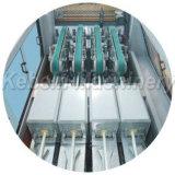 Producción de la pipa del conducto del PVC cuatro y línea máquina de la protuberancia
