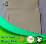 Het witte Raad Voorgedrukte Document van het Karton voor het Boek van het Beeldverhaal