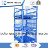 Клетка паллета ячеистой сети металла снабжения Stackable складывая