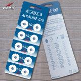 Wama AG9 Lr45 1.5Vアルカリボタンのセル電池