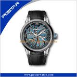明るいカラースポーツのメンズウォッチの方法傾向のスイス人の腕時計