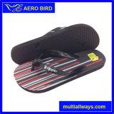 Zapatos de la sandalia del deslizador de los hombres de los fracasos de tirón del diseño de la impresión del indicador