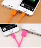 다채로운 PVC는 8개의 Pin 번개 USB 케이블 유니버설을 격리했다