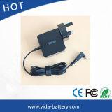 Квадратный заряжатель переходники штепсельной вилки 19V 1.75A 33W для Asus Vivobook S200e X201e X202e