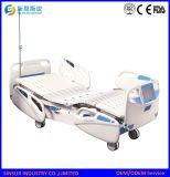 ISO/Ce certificó cuatro manivelas/la cama de hospital eléctrica ajustable del instrumento médico de la sacudida