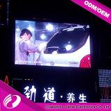 Visualizzazione di LED esterna di Digitahi di alta luminosità P5 per fare pubblicità