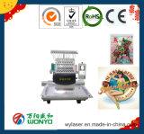 Computerisiert 12 Farben Hauptstickerei-Maschine für Schutzkappe/T-Shirt/flach Kleid aussondern