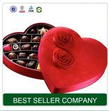Rectángulo de regalo de lujo de empaquetado del chocolate de Glod de la fábrica del rectángulo del superventas