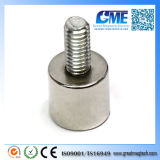 "D3 / 8X3 / 8 ""/ W8-32 Threaded Stud Grade N42 Aimant de néodyme"