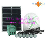 10W 20W 30W 60W Portable Solar Light und Fan