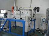 Extrudeuse en caoutchouc de silicones, câble de silicones et ligne de machines de profils de silicones