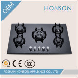 Articolo da cucina Tempered Glass Built in Gas Hob Gas Stove