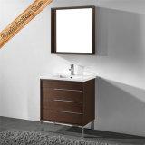 連邦機関1226 32inchの統合された陶磁器の洗面器の浴室用キャビネット