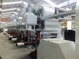 Machine d'impression à grande vitesse de gravure de papier d'aluminium
