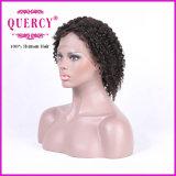 """8A等級のRemyの人間の毛髪のアフリカの黒人女性、使用できる8-30のための巻き毛のレースのかつら"""""""