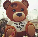 3D Geval van het Silicone van de Teddybeer van het Beeldverhaal Leuke voor iPhone6