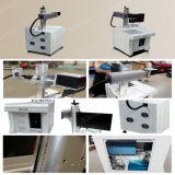 Portable de machine d'inscription de laser de la fibre 10W pour l'acier inoxydable