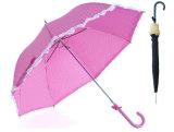 布によって包まれるハンドルのまっすぐな自動ドームのスカートの傘(YS-SA2308D3180R)