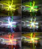 فائقة حزمة موجية نحلة [4إكس25و] [لد] يدور ضوء متحرّك رئيسيّة مع عجلة عدسة
