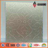 Panneau en aluminium enduit de poinçon de couleur de configuration (perforation rectangulaire d'identification 020)