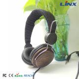 Qualität verdrahtete Computer-hölzerne Kopfhörer für Handy