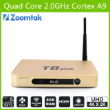 Modelo confidencial! ! Tevê Android Box T8 Plus com H. 265 Hardware Decoding