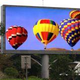 전시 화면을 광고하는 P6 풀 컬러 HD 옥외 LED