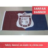 O profissional personaliza a bandeira decorativa grande do engranzamento (SF-MB-38)