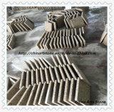 中国の灰色および白い炎にあてられたBushhammeredの花こう岩の床タイル