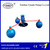 Shrimp、PondおよびFish Farming Floating PumpのためのかいWheel Aerator