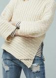 Lavori o indumenti a maglia classici della Jersey del cavo di Hotsales delle donne (W17-800)