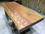 Желтая естественная таблица Rose деревянная обедая для дома или трактира (SD-005)