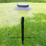 Indicatore luminoso al suolo del giardino solare esterno
