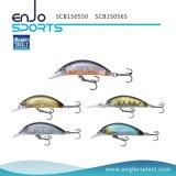Richiamo selezionato di Crankbait dell'attrezzatura di pesca del pescatore con Vmc gli ami tripli (SCB150550)