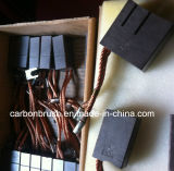 Escovas de carbono finas da grafita do cobre da qualidade (RE60)