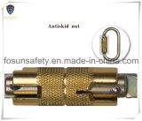 Double acier du carbone de verrouillage de Carabiner Ds25-2